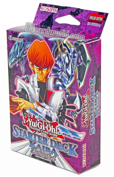 starter deck yugi reloaded vs kaiba reloaded konami yu gi oh yugi kaiba reloaded starter box da