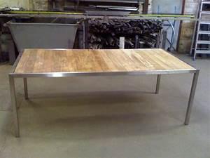Table En Teck Jardin : atelier de mainville distribution table de jardin teck et ~ Melissatoandfro.com Idées de Décoration