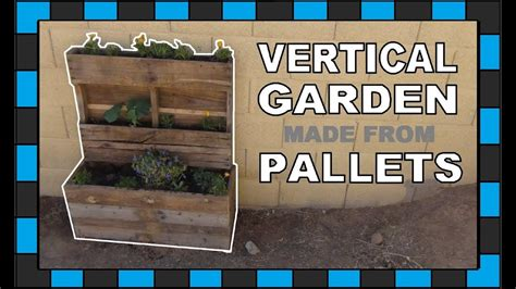 How To Build A Vertical Pallet Garden by Vertical Pallet Garden Watering System Garden Ftempo