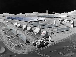 NASA - Manned Lunar Observatory