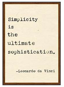 Simplicity - Quotes A Day