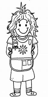 Scout Coloring Scouts Promise Sheet Daisy Bestofcoloring Sheets Law Cadette Template sketch template