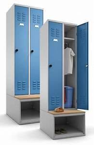 Sitzbank Mit Schuhfach : multilocker garderobenschrank auf untergebautem schuhfach und sitzbank ~ Watch28wear.com Haus und Dekorationen