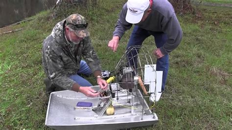 Boats With Big Fans by Rc Air Boat Gas Power