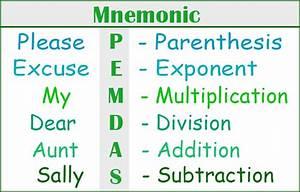 Mnemonics For Better Memory