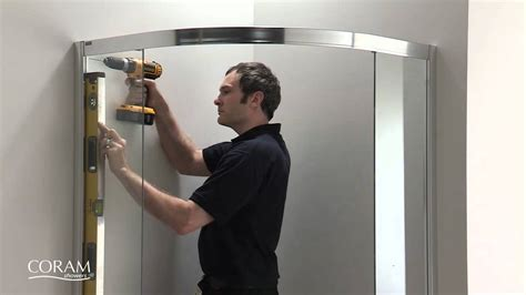 American Shower And Bath Website by Coram Optima Quadrant Step By Step Install Guide From