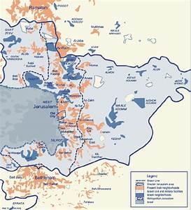 Map Of Jewish  U0026 Arab Neighborhoods In East Jerusalem
