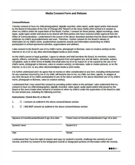 Generic Consent Form Template by Magnificent Vaccination Consent Form Template Adornment