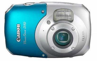 Camera Waterproof Canon Digital D10 Underwater Powershot
