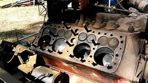 Ford Flathead V8 Running With One Head Removed