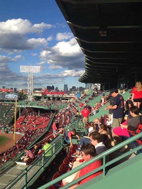 fenway park pavilion box baseball seating