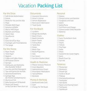35 free printable packing list templates word pdf