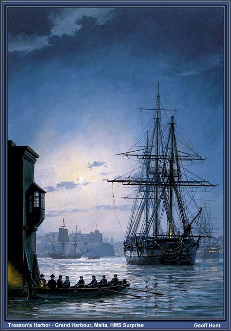 treasons harbour grand harbour malta hms surprise