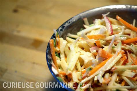 cuisiner carotte recette de salade de chou de chou curieuse