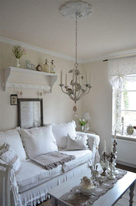 canap vintage marron déco et meubles shabby chic dans le salon 55 idées vintage