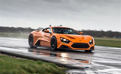 Zenvo St1 Price Us by Zenvo St1 Supercar Performs Poorly Catches In Top