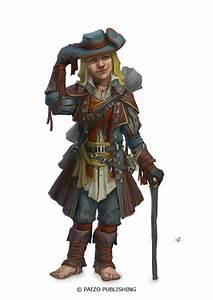 Halfling Male Rogue.   RPG Characters   Pinterest