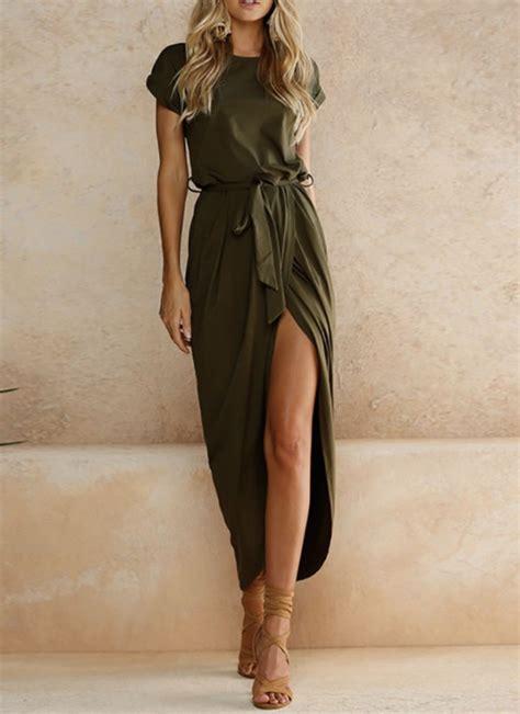 #IVROSE | Maxi dresses casual, Solid maxi dress, Fashion