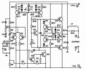 100 Watt Audio Power Amplifier