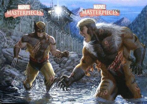 17 Best Images About Wolverine V's Sabertooth On Pinterest