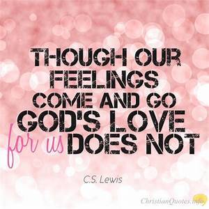 17 Amazing Quotes About God's Love | ChristianQuotes.info
