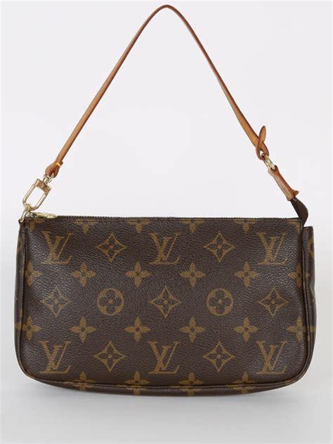 louis vuitton pochette accessories monogram canvas luxury bags
