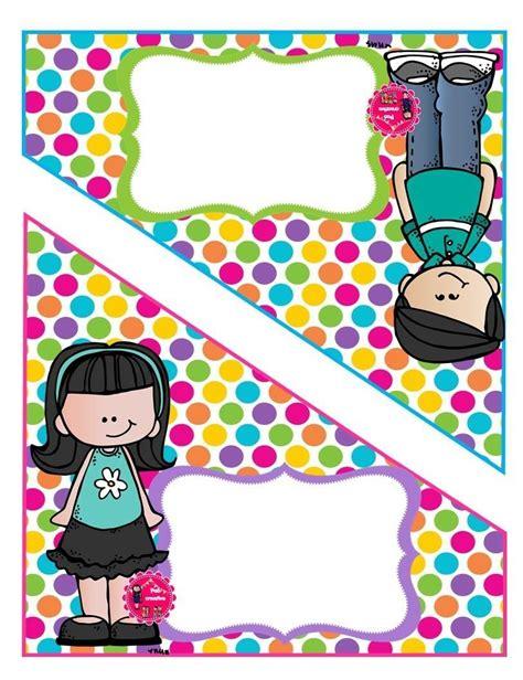 tijera folder dibujos melon educacion preescolar decoracion de aulas y etiquetas