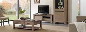 Meuble Salon Bois : ensemble de salon moderne ravel bois d oregon meubles bois massif ~ Teatrodelosmanantiales.com Idées de Décoration