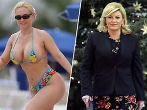 Croatian President Confused for Coco Austin in Old Bikini
