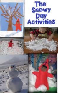 Snowy Day Preschool Activities