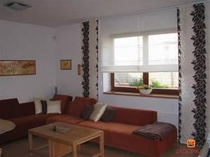 Ideen Für Wohnzimmer : raffrollo wohnzimmer modern ~ Sanjose-hotels-ca.com Haus und Dekorationen