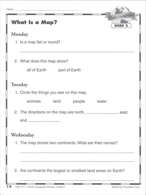 Daily Geography Practice Gr 2 (033535) Details  Rainbow Resource Center, Inc