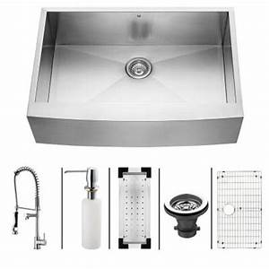 vigo all in one farmhouse stainless steel 33x2225x10 0 With 33x22 farmhouse sink