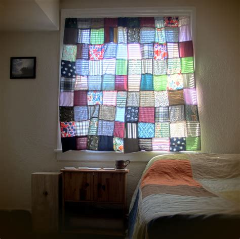 patchwork ideas on patchwork curtains