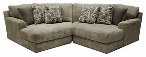 Malibu two seat sectional by jackson furniture wolf for Jackson furniture sectional sofa