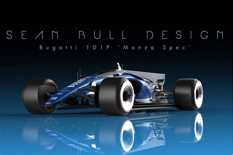 Take A Look At Bugatti's 101p Formula 1 Future Concept Car
