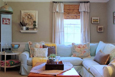 my houzz vintage farmhouse style shabby chic living