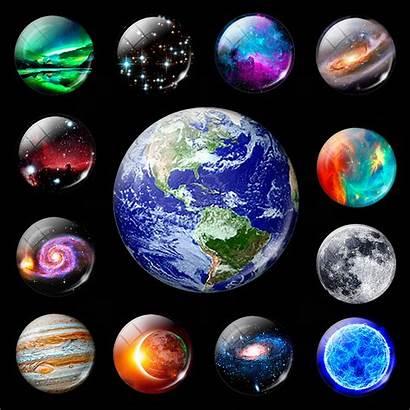 Galaxy Planet Universe Moon Nebula Luminous Stars