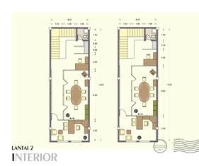 contoh denah rumah layout annahape studio desain rumah desain