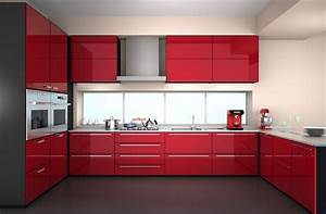 2017 New Design Design High Gloss Lacquer Kitchen Cabinets
