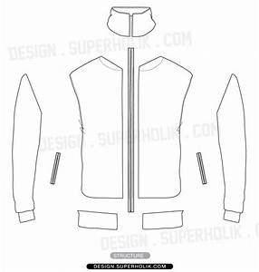 track jacket template hellovector With sports jacket template