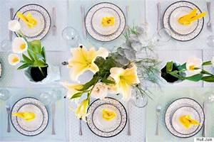 Faire Une Belle Table Pour Recevoir : comment dresser la plus belle table de p ques photos ~ Melissatoandfro.com Idées de Décoration