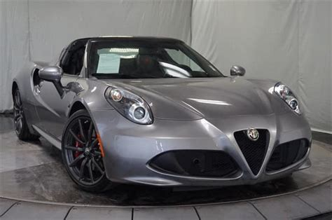 Used Alfa Romeo For Sale by Gently Used 2015 Alfa Romeo 4c Convertible For Sale Near