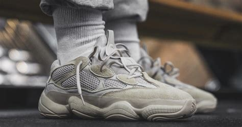 Take a Closer Look at the adidas Yeezy 500 u0026quot;Desert Ratu0026quot; in Blush - JustFreshKicks