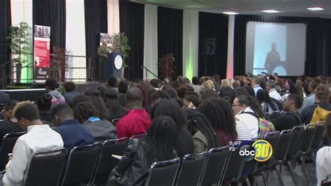 Students gather in downtown Fresno for African American ...