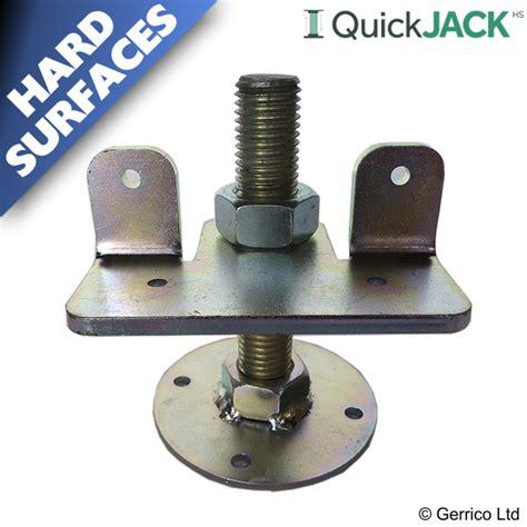 quickjack hs hard surface garden shed base foundation