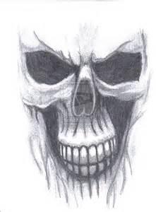 Ghost Rider Skull Drawings