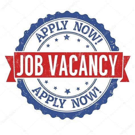 job vacancy grunge stamp stock vector  roxanabalint
