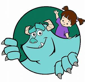 Monster clipart monsters inc character - Pencil and in ...
