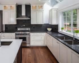black backsplash in kitchen 17 best images about kitchen backsplash countertops on backsplash tile